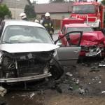 Wypadek drogowy w Racięcicach