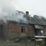 Pożar budynku mieszkalnego w Stefanowie