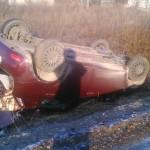 Wypadek drogowy w m. Przystronie