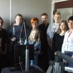 Uczniowie na falach radiowych