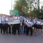 Sompoleńska Orkiestra Dęta na podium
