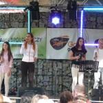 Dziewczęcy kwartet na Salixie