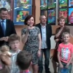 Wernisaż wystawy malarstwa dzieci i młodzieży