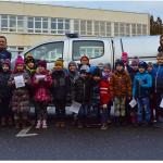 Pierwszaki z Sompolna odwiedziły konińskich policjantów