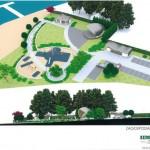Projekt koncepcyjny : Zagospodarowanie terenu przy jeziorze w Lubstowie na cele rekreacyjne.