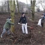 42 osoby wzięły udział w sobotniej akcji pt. Sprzątanie naszego parku.
