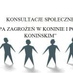 """"""" Mapy zagrożeń w Koninie i powiecie konińskim"""""""