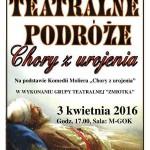Teatralne podróże – Chory z urojenia