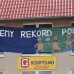 Dzień Dziecka i bicie rekordu w ZSP nr 1 w Sompolnie.