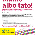 Fundacja LIDA zaprasza do udziału w projekcie