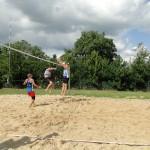 Turniej w piłce siatkowej plażowej o Puchar Burmistrza