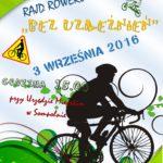 """XXIV Rajd Rowerowy """"BEZ UZALEŻNIEŃ"""""""