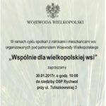 Wspólnie dla wielkopolskiej wsi – spotkanie z rolnikami i mieszkańcami wsi